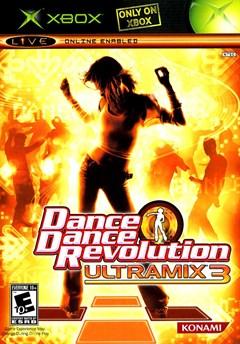 Dance Dance Revolution Ultramix 3 Xbox Box Art