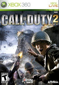 Call of Duty 2 Xbox 360 Box Art