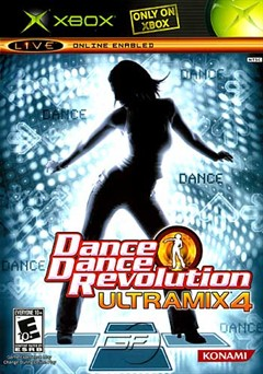 Dance Dance Revolution Ultramix 4 Xbox Box Art