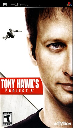 Tony Hawk's Project 8 PSP Box Art