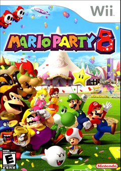 Mario Party 8 Wii Box Art
