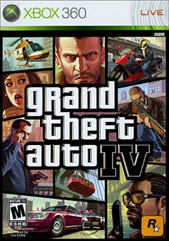 Grand Theft Auto IV Xbox 360 Box Art