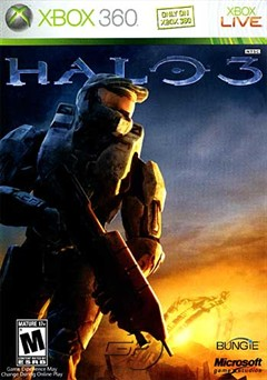Halo 3 Xbox 360 Box Art