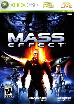 Mass Effect Xbox 360 Box Art