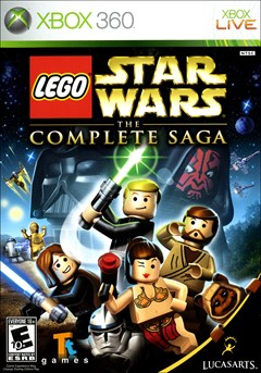 LEGO Star Wars: The Complete Saga Xbox 360 Box Art