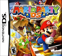 Mario Party DS Nintendo DS Box Art