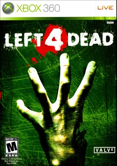 Left 4 Dead Xbox 360 Box Art