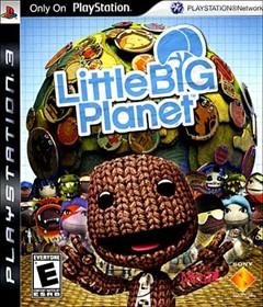 Little Big Planet PlayStation 3 Box Art