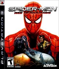 Spider-Man: Web of Shadows PlayStation 3 Box Art