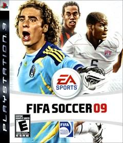 FIFA Soccer 09 PlayStation 3 Box Art