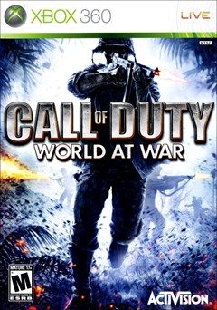 Call of Duty: World at War Xbox 360 Box Art