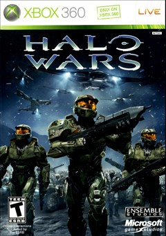 Halo Wars Xbox 360 Box Art