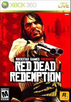 Red Dead Redemption Xbox 360 Box Art