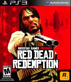 Red Dead Redemption PlayStation 3 Box Art