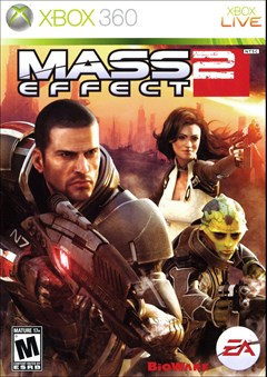 Mass Effect 2 Xbox 360 Box Art