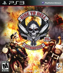 Ride to Hell: Retribution PlayStation 3 Box Art