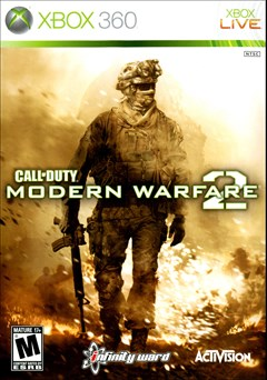 Call of Duty: Modern Warfare 2 Xbox 360 Box Art