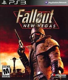 Fallout: New Vegas PlayStation 3 Box Art