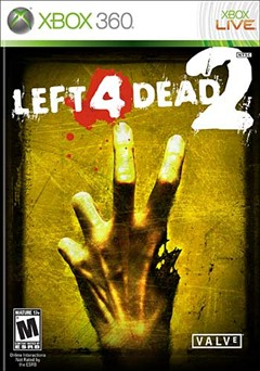 Left 4 Dead 2 Xbox 360 Box Art