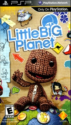 Little Big Planet PSP Box Art