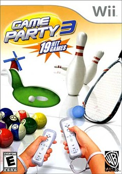 Game Party 3 Wii Box Art