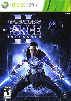 Star Wars: The Force Unleashed II Xbox 360 Box Art