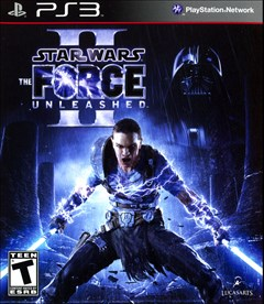 Star Wars: The Force Unleashed II PlayStation 3 Box Art