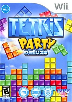Tetris Party Deluxe Wii Box Art
