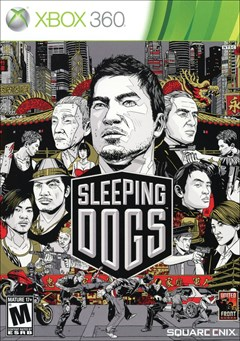 Sleeping Dogs Xbox 360 Box Art