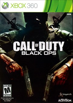 Call of Duty: Black Ops Xbox 360 Box Art