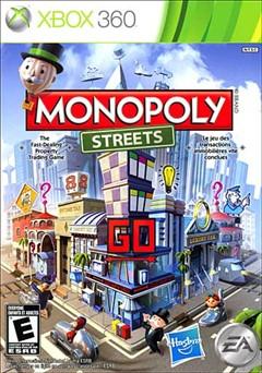 Monopoly Streets Xbox 360 Box Art