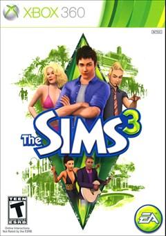 The Sims 3 Xbox 360 Box Art