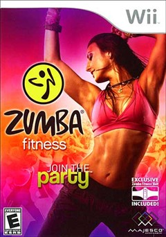 Zumba Fitness Wii Box Art
