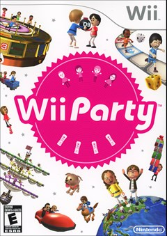 Wii Party Wii Box Art