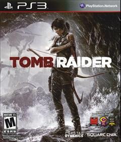 Tomb Raider PlayStation 3 Box Art