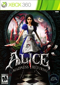 Alice: Madness Returns Xbox 360 Box Art