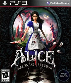 Alice: Madness Returns PlayStation 3 Box Art