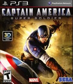 Captain America: Super Soldier PlayStation 3 Box Art