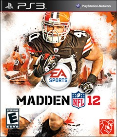 Madden NFL 12 PlayStation 3 Box Art
