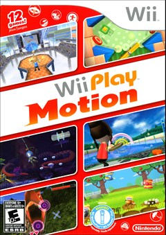 Wii Play: Motion Wii Box Art