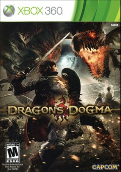 Dragon's Dogma Xbox 360 Box Art