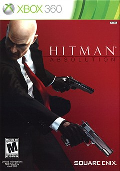Hitman: Absolution Xbox 360 Box Art