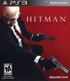 Hitman: Absolution PlayStation 3 Box Art