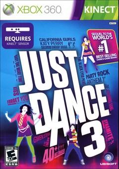 Just Dance 3 Xbox 360 Box Art