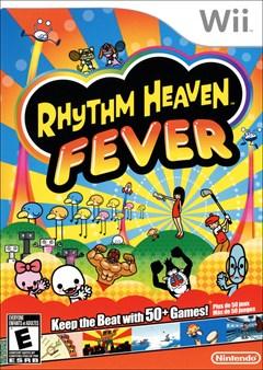 Rhythm Heaven Fever Wii Box Art
