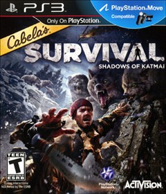 Cabela's Survival: Shadows of Katmai PlayStation 3 Box Art