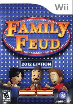 Family Feud 2012 Wii Box Art
