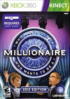 Who Wants to Be a Millionaire? Xbox 360 Box Art