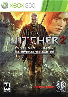 Witcher 2: Assassins of Kings Enhanced Edition Xbox 360 Box Art