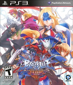 BlazBlue: Continuum Shift EXTEND PlayStation 3 Box Art